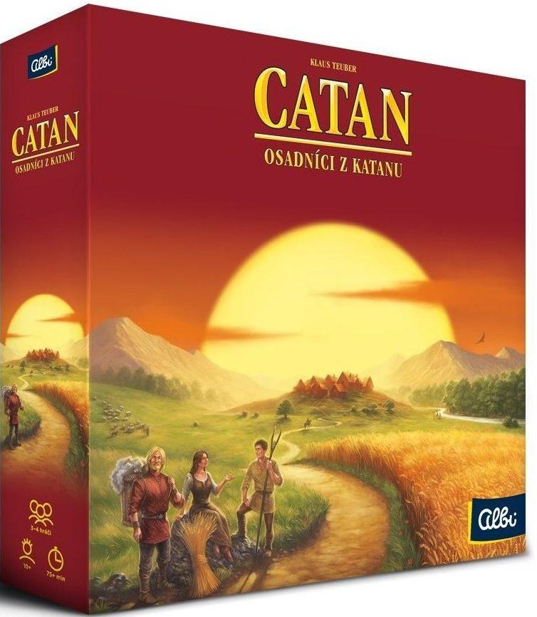 Stolové hry - Catan - Osadníci z Katanu